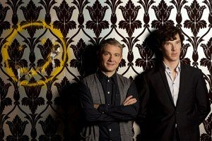 Sherlock's character not caught up in sexual tension. This was a real turn-on for me. I guess too that there is a frisson of attraction betw...