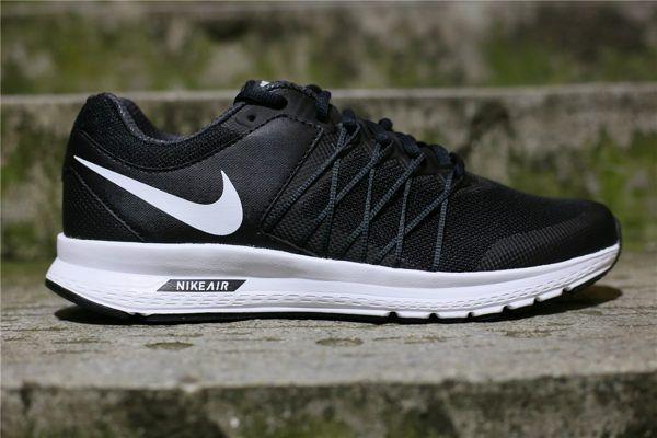 NIKE AIR RELENTLESS 6 MSL 黑白 側邊粗線條 慢跑鞋 男生 2016/6月