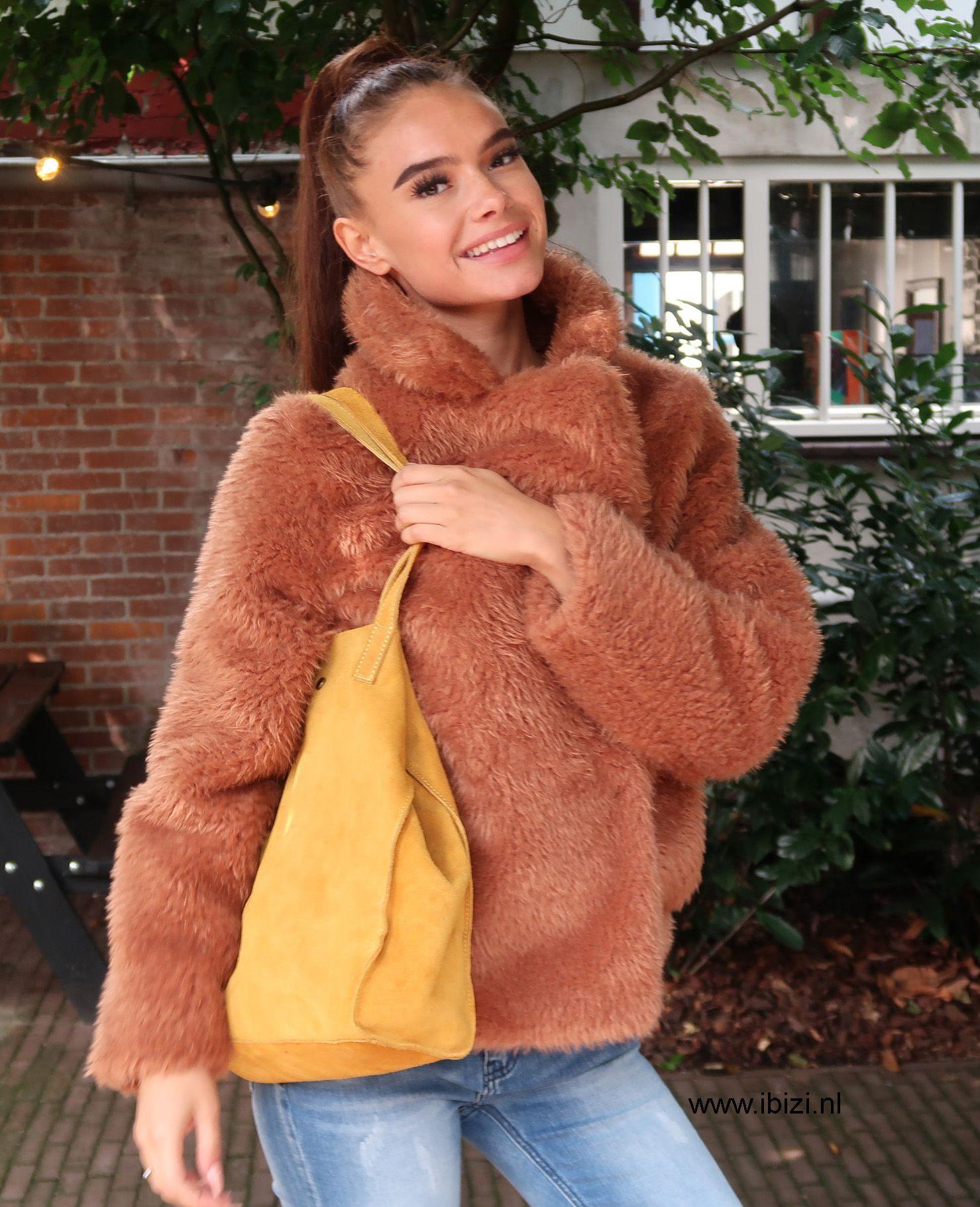 Deze leuke teddy jassen zijn erg populair in het najaar van