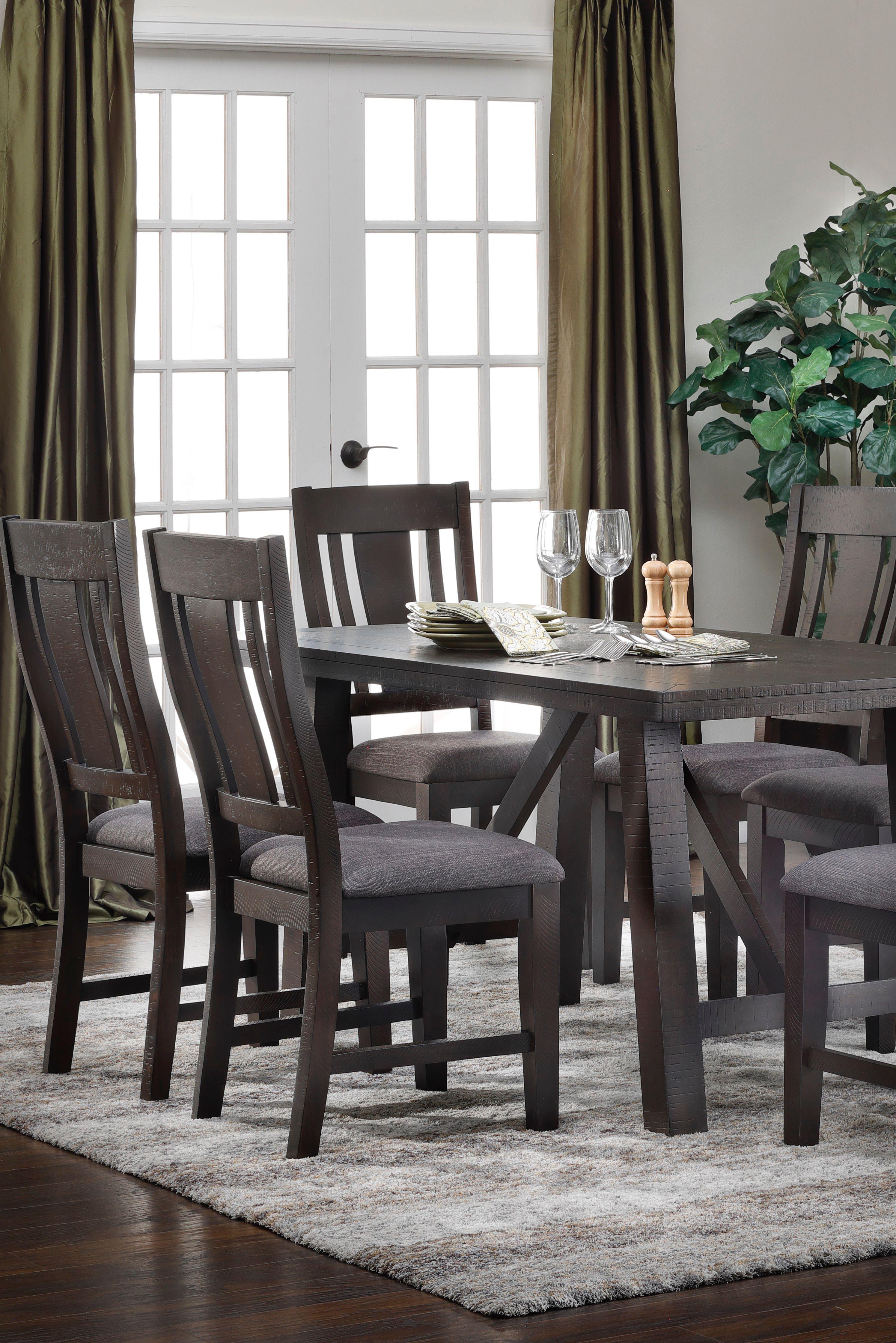 Furniture Row Black Friday Granada Dining Set Wooden Dining