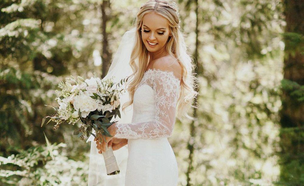 Der beliebteste Brautkleid-Trend 2016 war ...