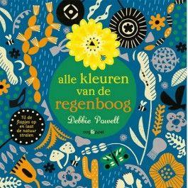 uitgeverij oogappel flapjesboek alle kleuren van de regenboog 1526217 | ilovespeelgoed.nl