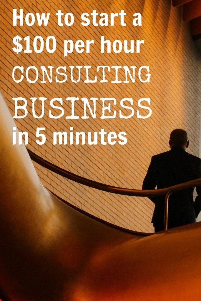 Clarity Fm Start A 100 Per Hour Consulting Business In 5 Minutes