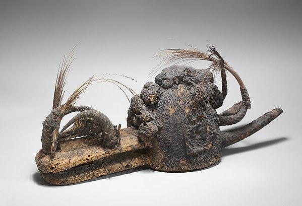 Kòmò Helmet Mask (Kòmòkun)   Komo or Koma Power Association   Mask, Helmet,  Gods and goddesses