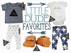 Golden Sugar Studio: Little Dude Favorites