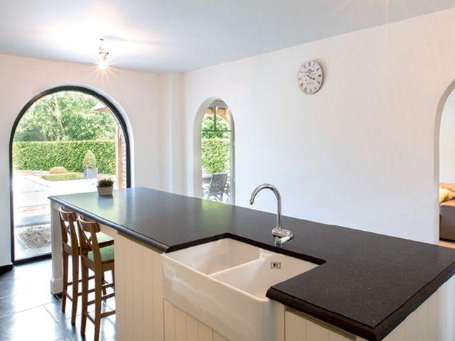 Keuken Landelijk Ramen : Keuken wit met v groef elst vri interieur