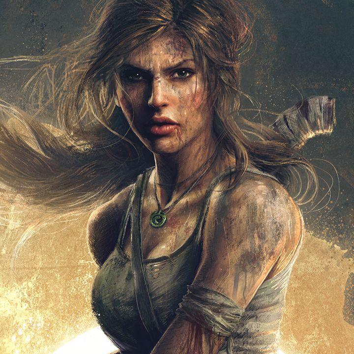 sam spratt | Lara Croft Tomb Raider poster