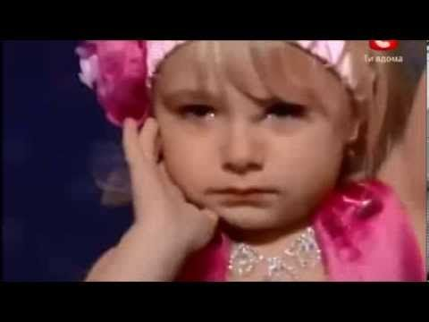 5 Y O  Ukranian girl Angelina who surprised the world with her talent an...