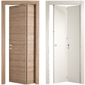 Interesting solution to save door space bertolotto porte - Porte salvaspazio per interni ...
