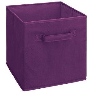 Closetmaid Fabric Drawer Purple Fabric Storage Bins Fabric