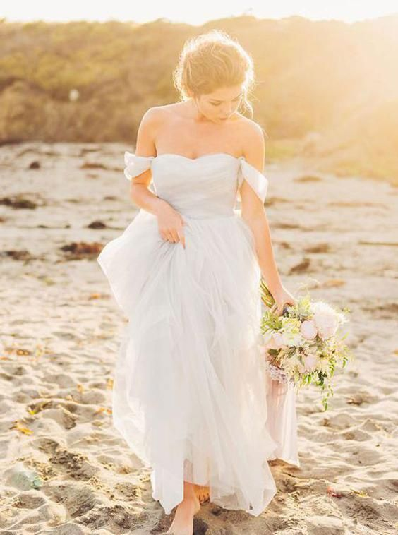 Off The Shoulder Wedding Dresses Tulle Wedding Dress Simple Bridal Dress Wd00184 White Beach Wedding Dresses Simple Bridal Dresses Tulle Wedding Dress,Wedding Guest Dresses Plus Size Uk