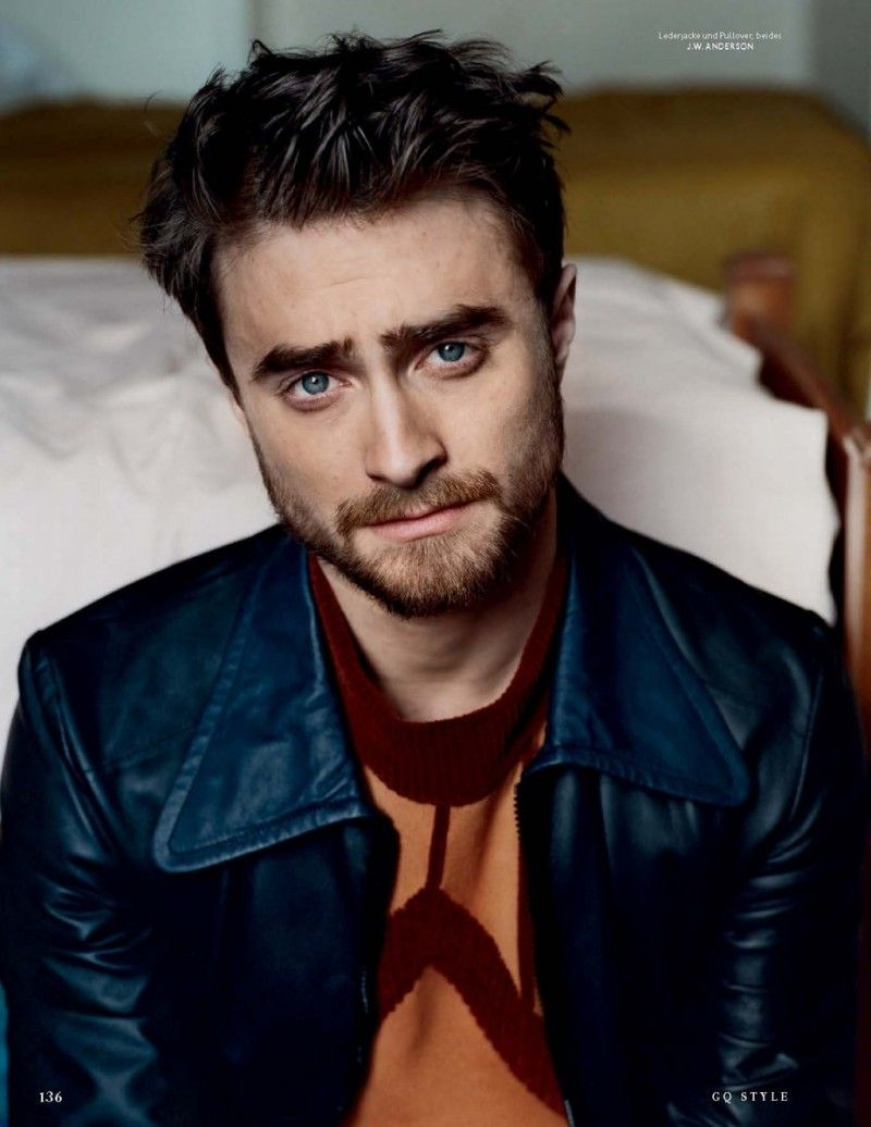Picture about daniel jacob radcliffe all about man and male - Daniel Radcliffe Poses For Vanity Fair Italia Unveils Six Pack