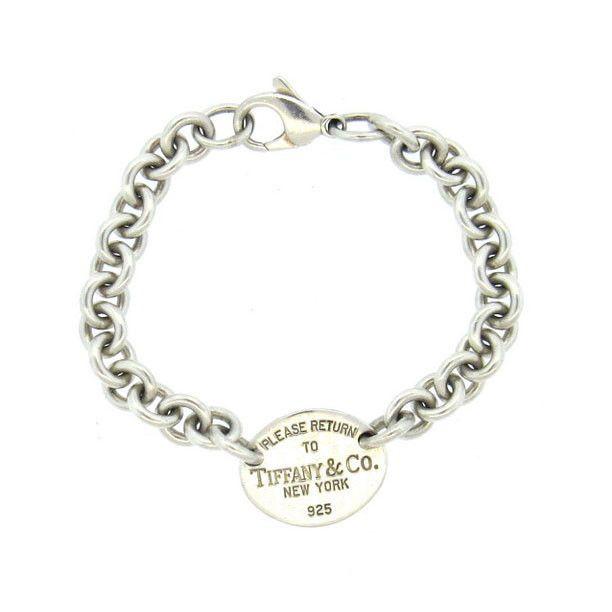 Tiffany Co Return To Sterling Silver Tag Bracelet