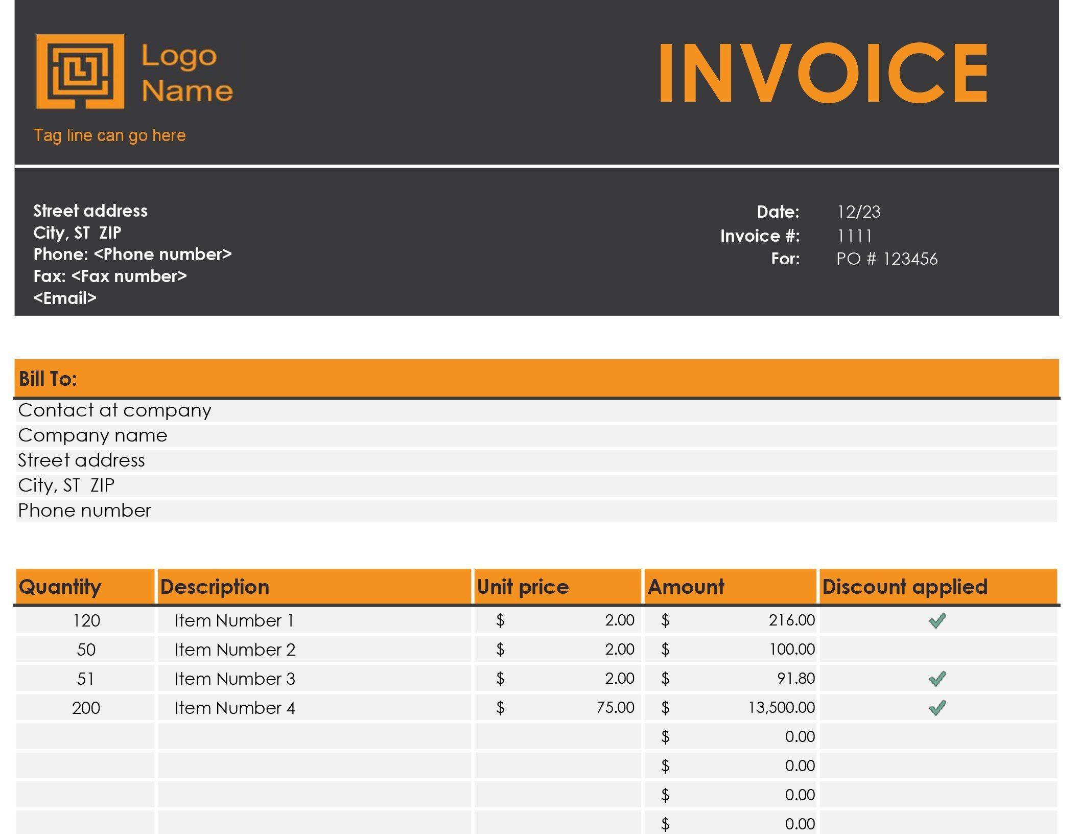 Invoice Tracker Regarding Invoice Tracking Spreadsheet Template 10 Professional Templates Ideas Invoice Template Invoice Template Word Spreadsheet Template