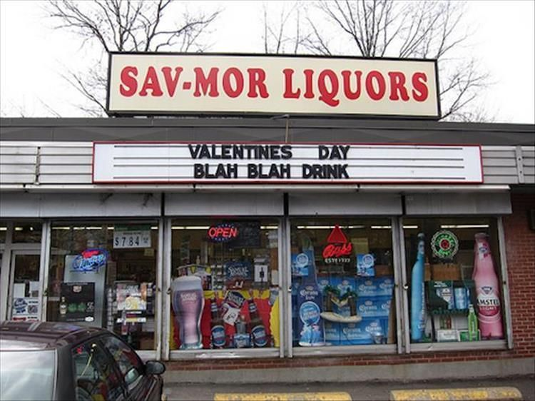 This Liquor Store Has A Great Sense Of Humor 24 Pics