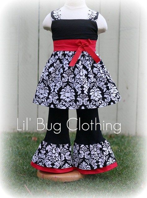 custom boutique girl christmas outfit valentines pageant wear outfit lilbugclothing clothing on artfire - Girls Valentine Outfits