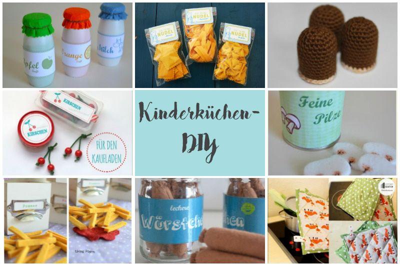 Die schönsten DIY für die Kinderküche   Kinderküche ...