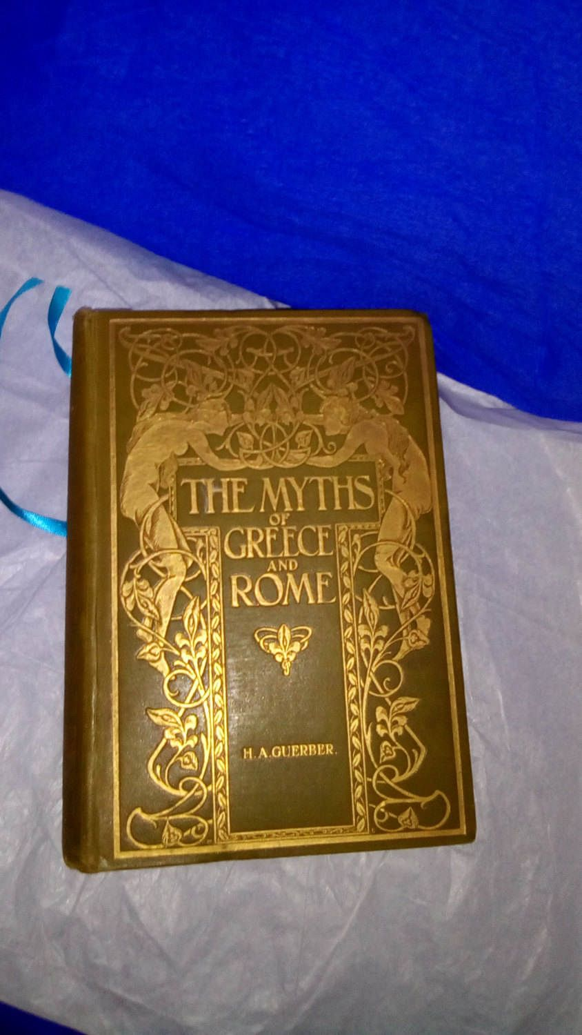 The Myths of Greece and Rome, Their Stories, Signification and Origin. By H. A. Guerber. London, George Harrap's & 3 Co. 1913. Illustrated by TheBohemianBookstore on Etsy