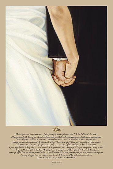 """""""I Do""""  ~ Artist, Bonnie Mohr"""