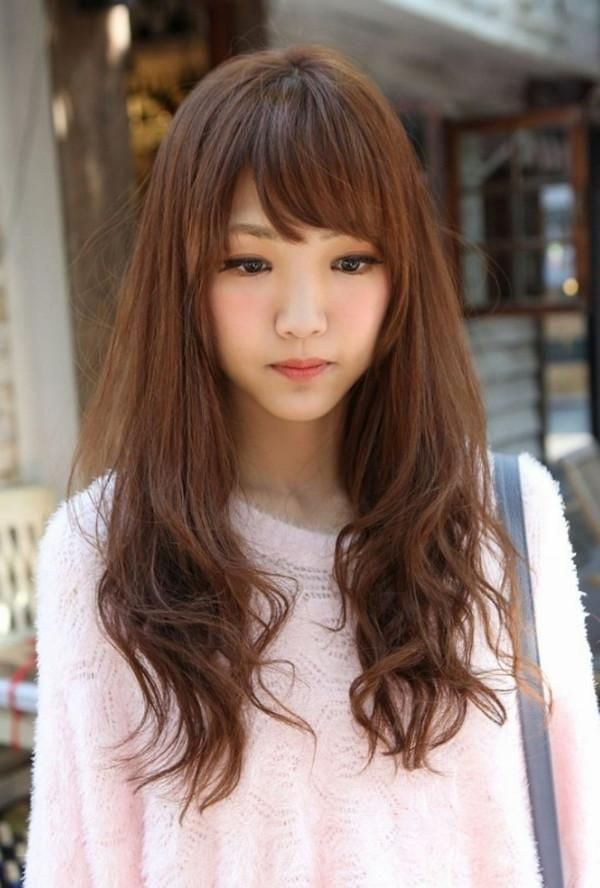 Explore Gallery Of Long Hairstyles For Korean Women 11 Of 15