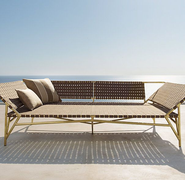Love This Daybed From Restoration Hardware Daybed Furniture Outdoor Sofa