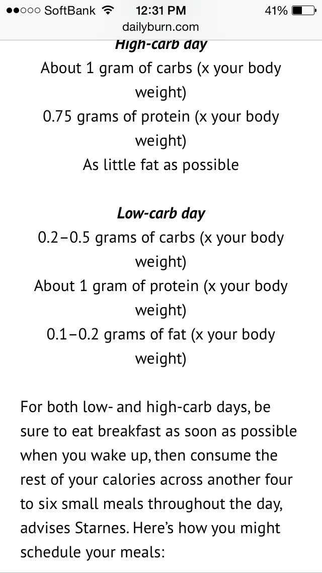 4 day rapid fat loss diet picture 5