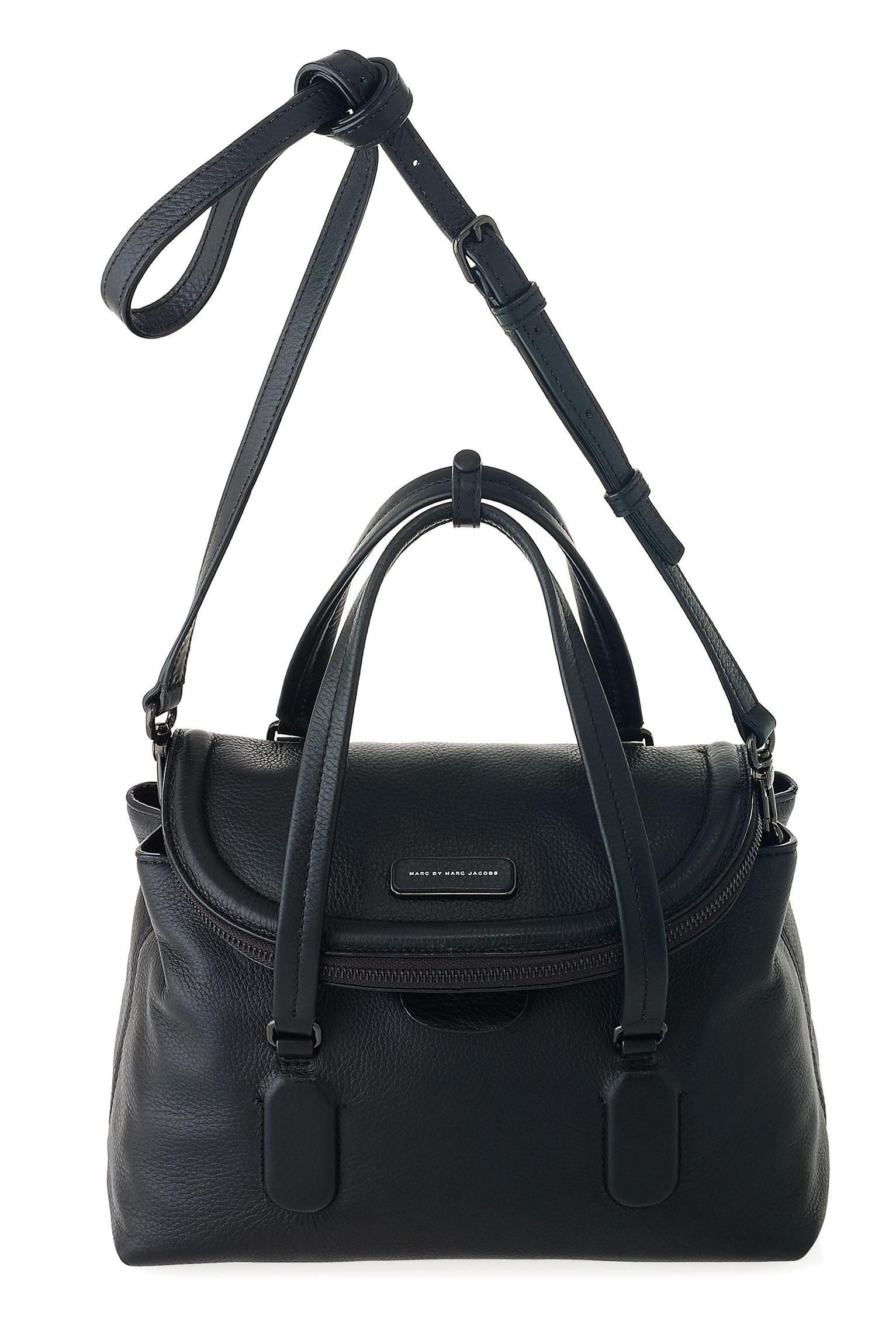 cd320197e0a5 Marc by Marc Jacobs Silicone Valley Satchel in Black