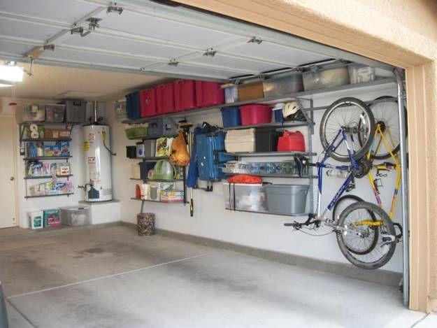 20 Garage Wall Storage Ideas Space Organization With Storage Shelves And Racks Garage Wall Storage Garage Wall Organizer Garage Organization