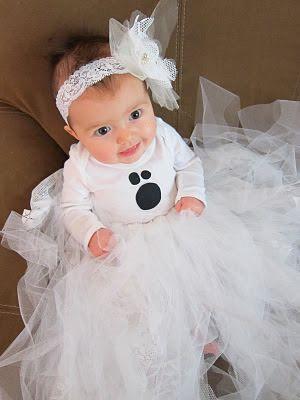 do it yourself divas DIY Baby Ghost Halloween Costume Tutorial - halloween ghost costume ideas
