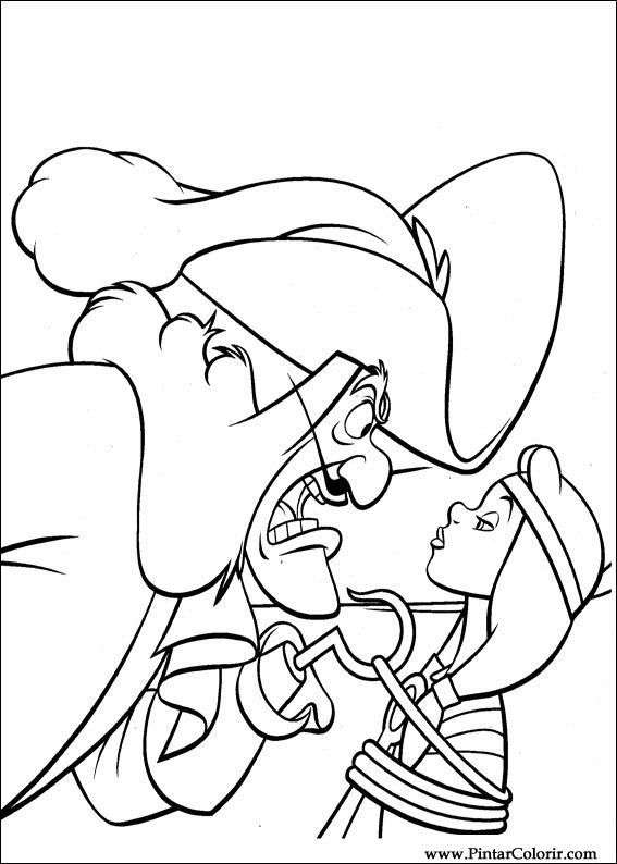 peter pan coloring pages - Google-søgning | Coloring Pages ...