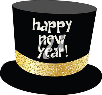 Happy New Year Hat 64