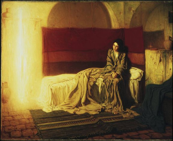 """Henry Ossawa Tanner """"The Annunciation"""""""