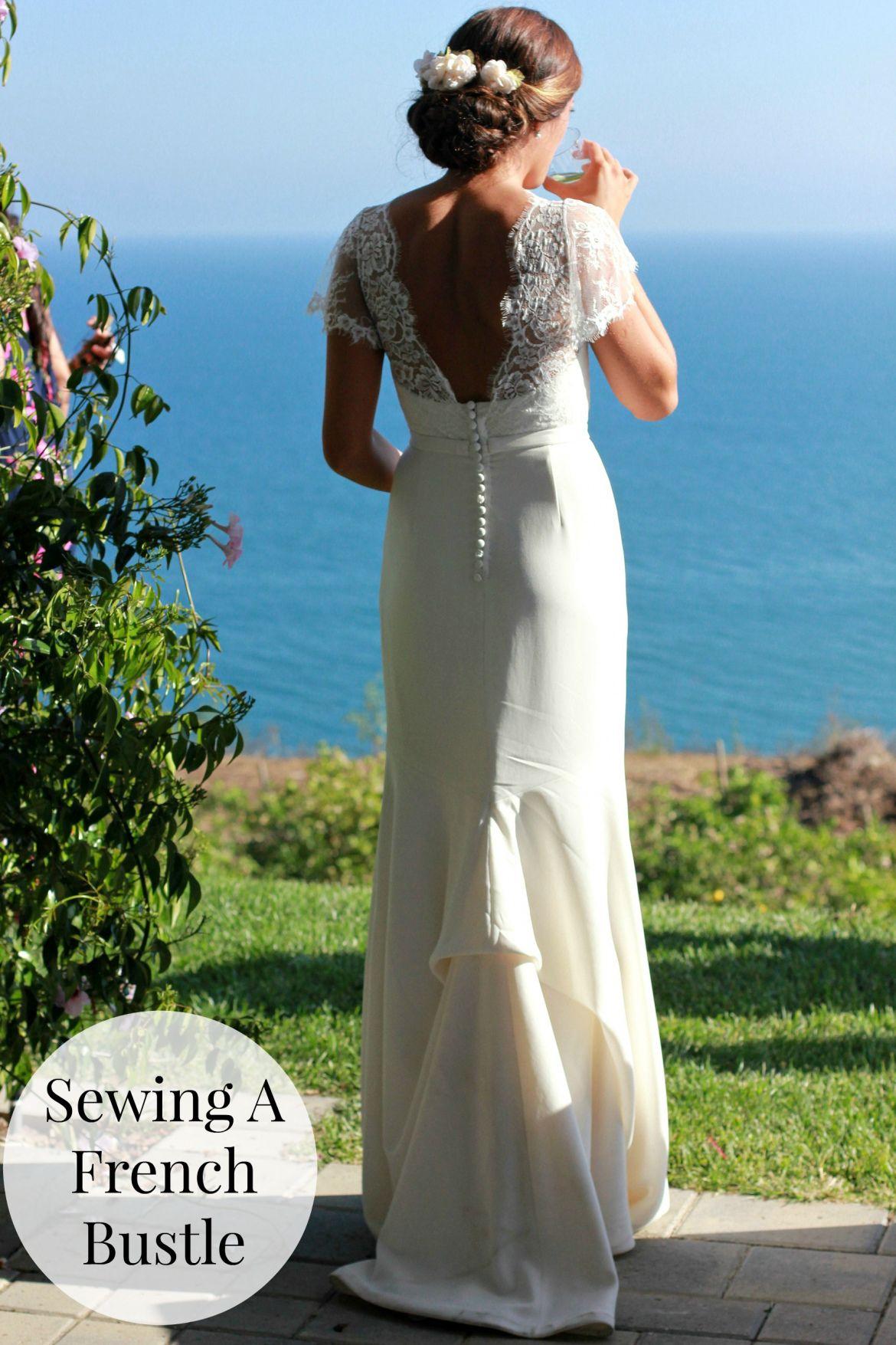 50+ French Bustle Wedding Dress - Informal Wedding Dresses for Older ...