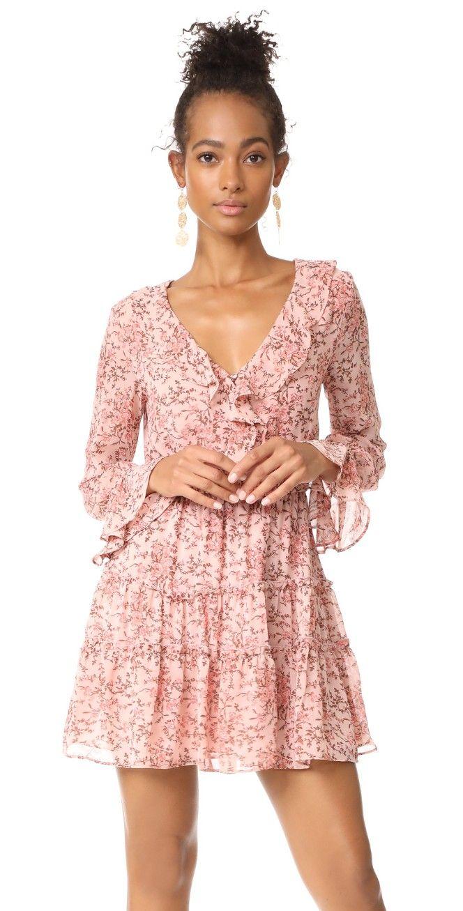 Evelyn Tiered Mini Dress   Pinterest