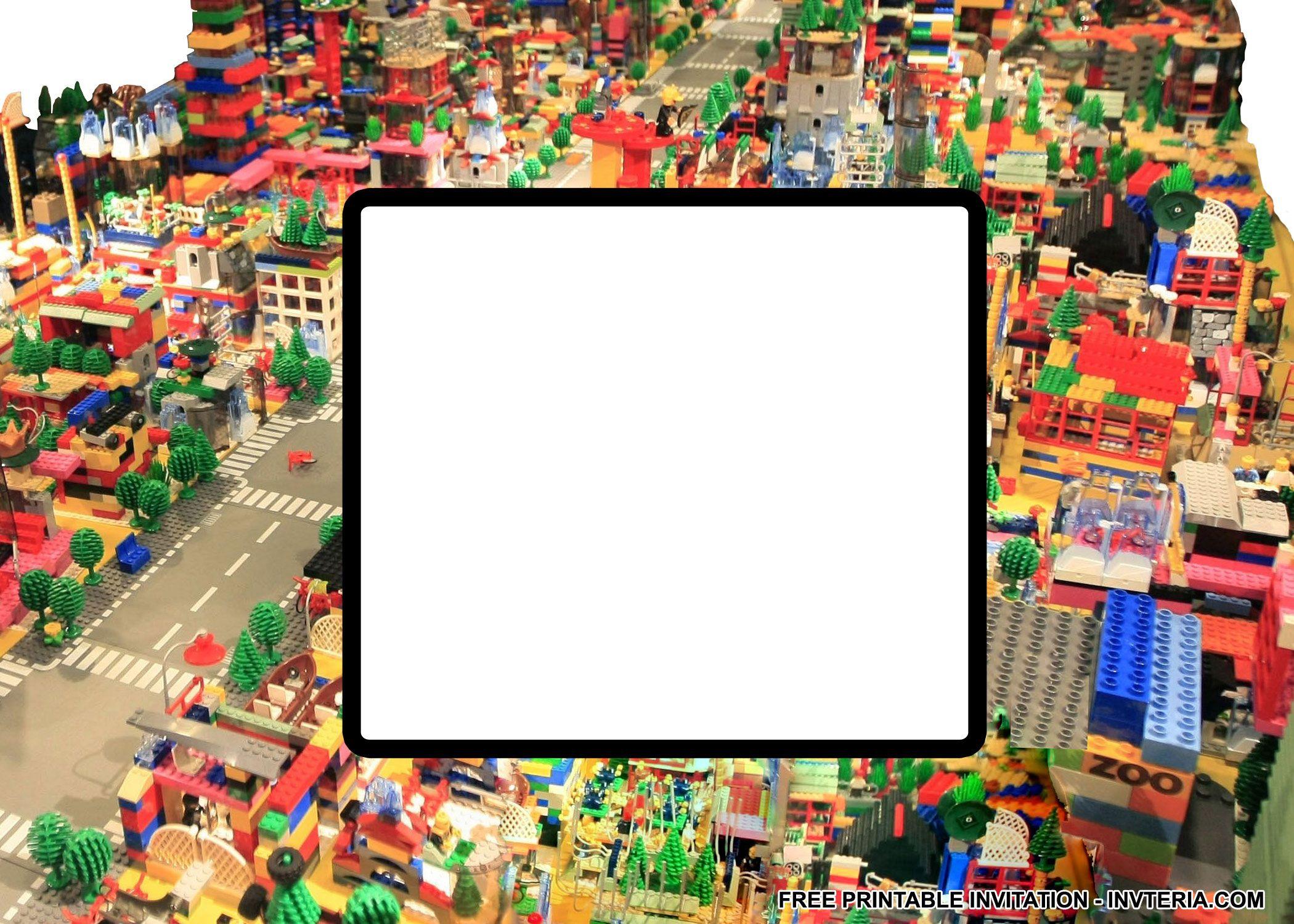 FINE BEST FREE PRINTABLE LEGO BIRTHDAY INVITATIONS IDEA   Invitation ...