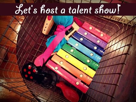 Camp Sunny Patch Session 6: Let's Host a Talent Show! Thanks to Camp Counselor Stacy of #KidsStuffWorld for this fun creative play idea! What talents would your child put on display? #CampSunnyPatch