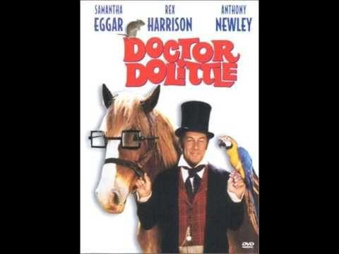 Doctor Dolittle Rex Harrison If You Please Oude Films Avengers Film