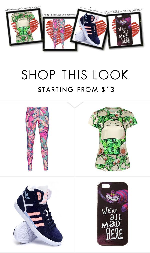 """Unbenannt #144"" by kitty-lm ❤ liked on Polyvore featuring adidas Originals, adidas and Disney"