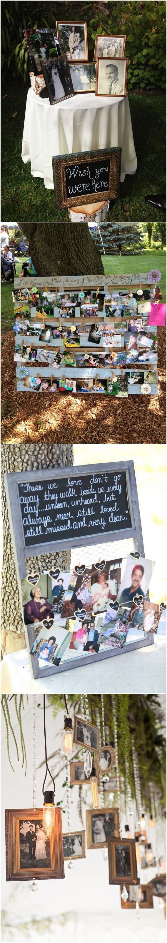 wedding photo display ideas youull want to try immediately