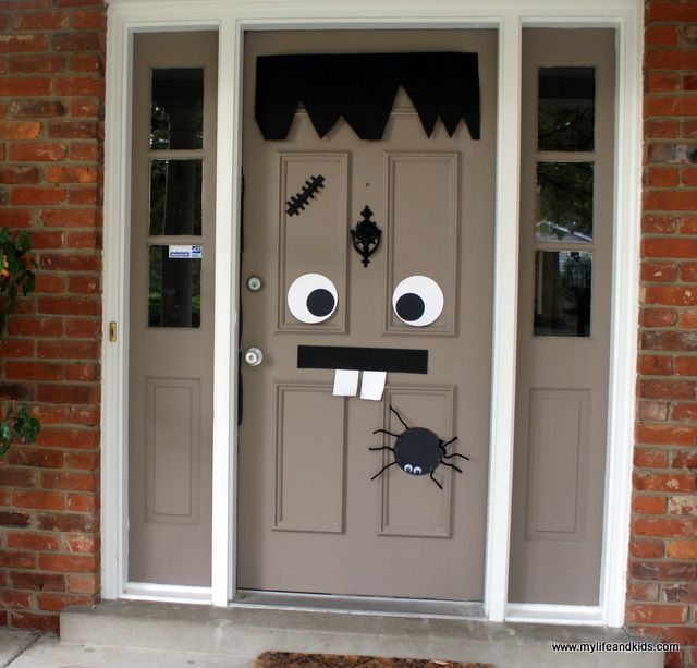 Hallowen Door and other holidays Holiday Things Pinterest - halloween do it yourself decorations