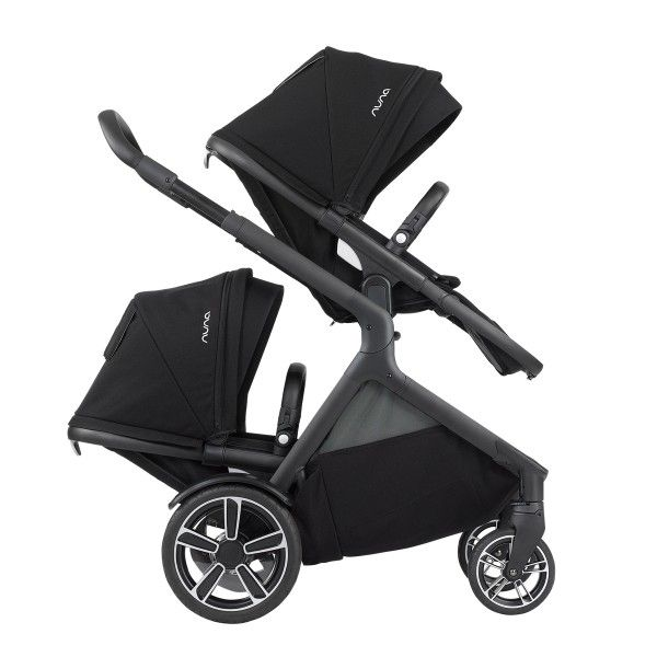 Nuna Demi Grow Sibling Seat Double Strollers Double