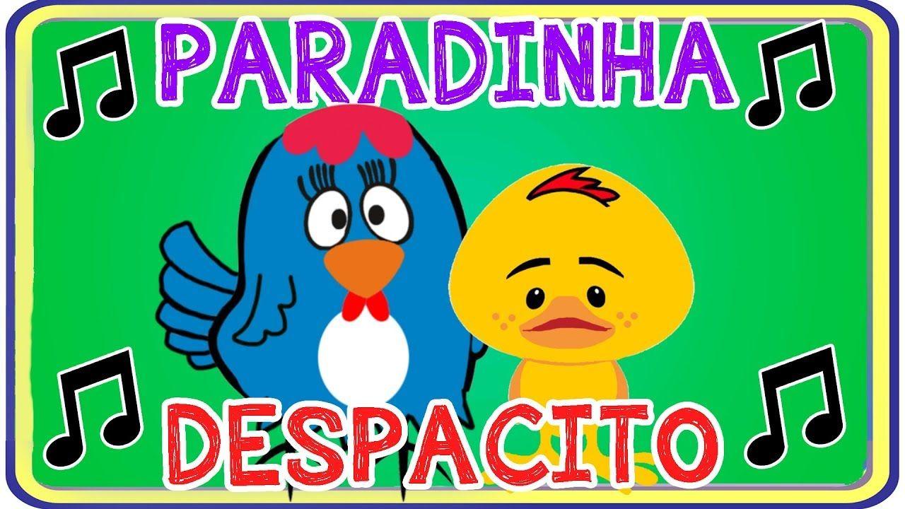 Versao Infantil Da Musica Paradinha Anitta E Despacito Parodia