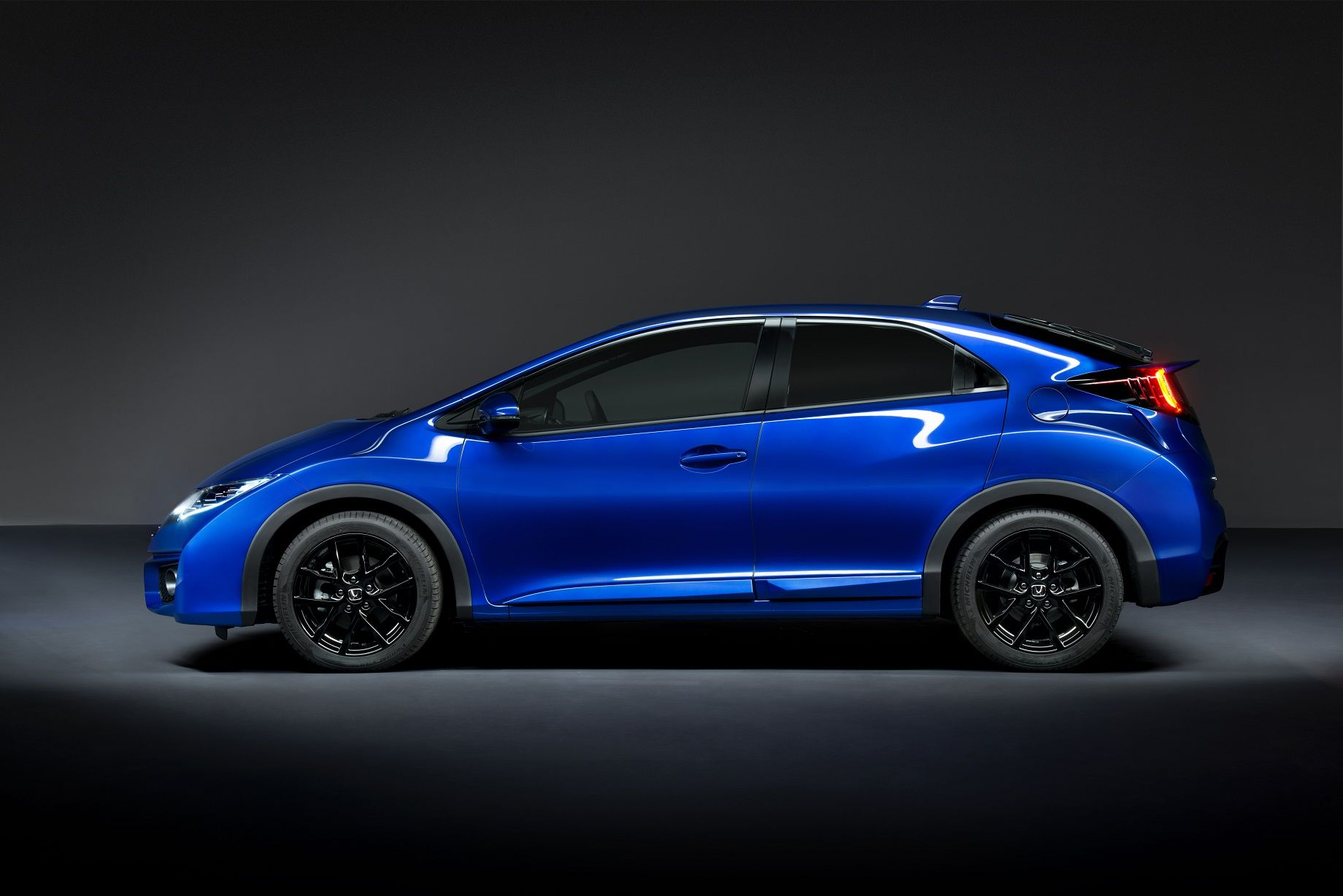 Honda Civic Si in Brilliant Sporty Blue Honda civic