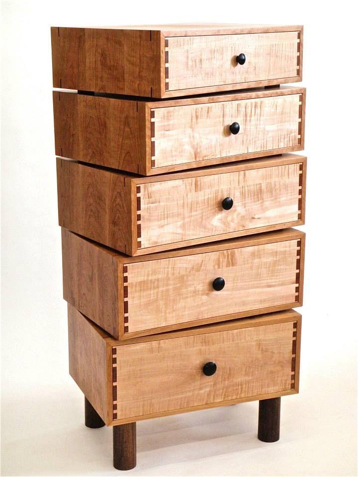 Todd bradlee furniture rotating stacking drawer cabinet