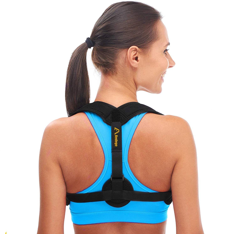 Andego Back Posture Corrector for Women & Men - Effective