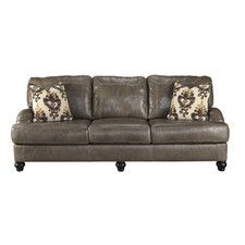 Kannerdy Leather Sofa