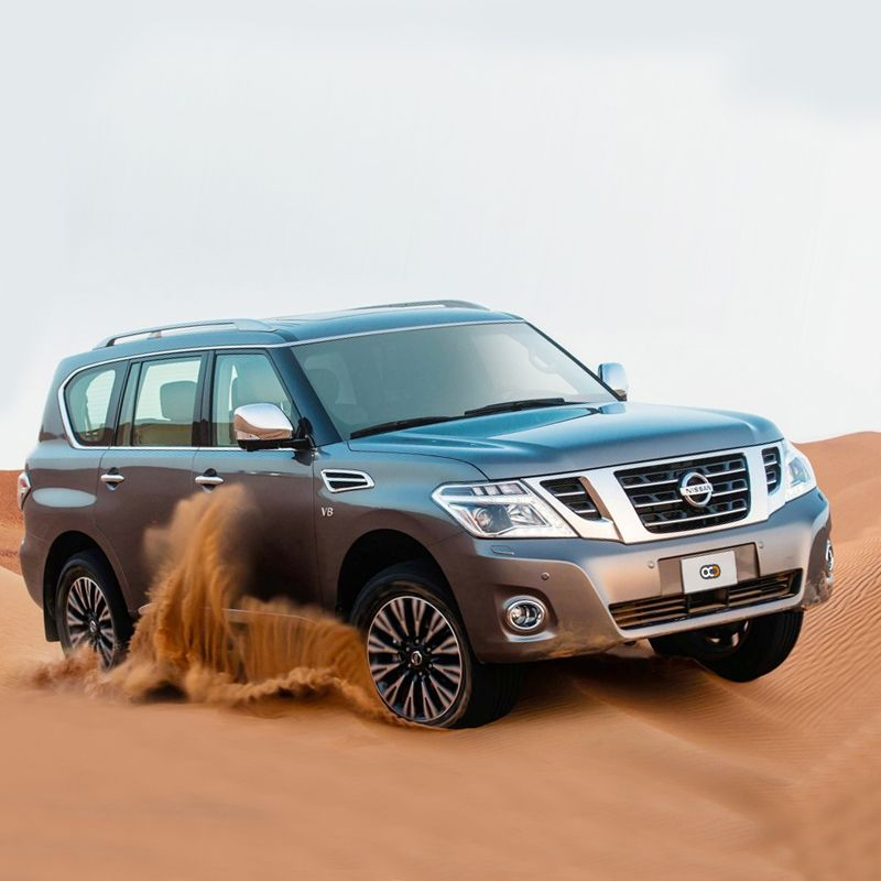 Drive the 2017 Nissan Patrol for AED 600 / day in Dubai