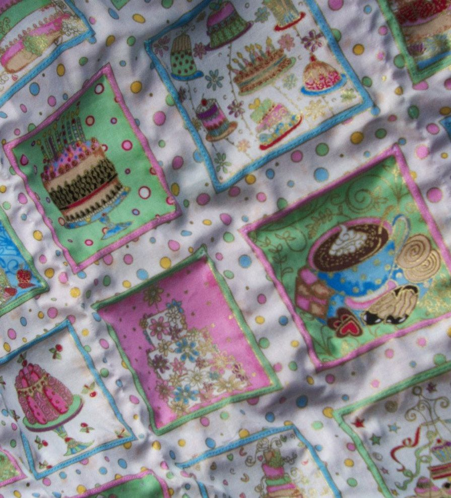 Baby girl/toddler #quilt, puffed #squares, pink blue #green yellow white, soft fl,  View more on the LINK: 	http://www.zeppy.io/product/gb/3/109219161/