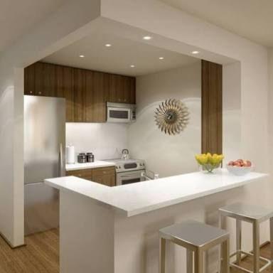 Pin De Moreira En Renovation Maison Cocinas Pequenas Barras De
