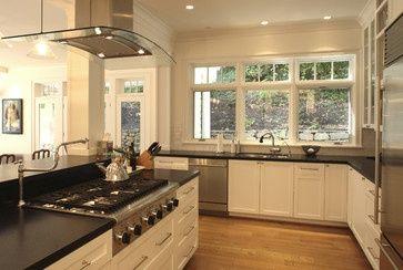 Kitchen Stove In Peninsula Visit Houzz Com Kitchen